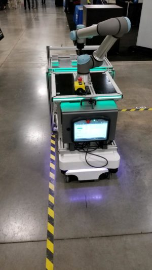 collaborative robot - AGC picking